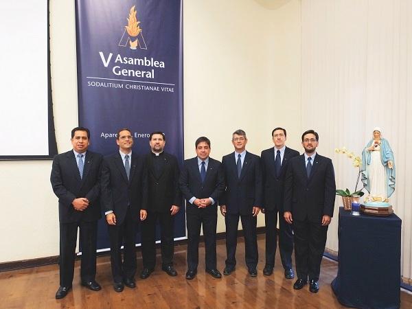 Miembros del Consejo Superior del Sodalicio de Vida Cristiana elegidos en la V Asamblea General Ordinaria