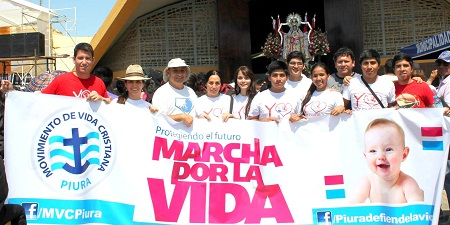 Peregrinacion por la vida Piura 2014 (MVC)