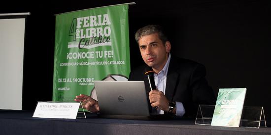Alexandre Borges, autor de Deporte y compromiso cristiano