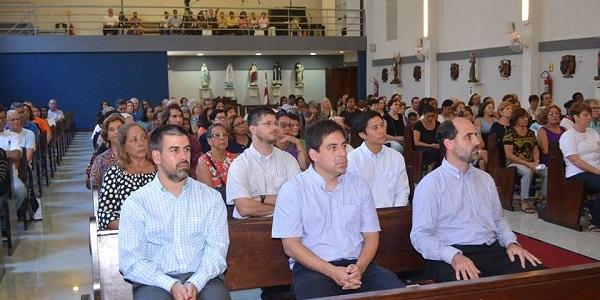Misa de acción de gracias por 32 años de servicio del Sodalicio en Río de Janeiro con el Card Orani - Noticias Sodálites (1)