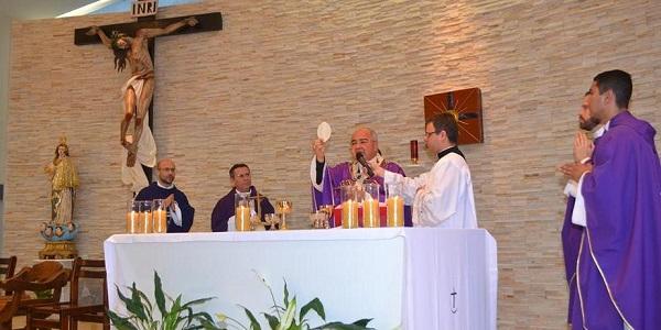 Misa de acción de gracias por 32 años de servicio del Sodalicio en Río de Janeiro con el Card Orani - Noticias Sodálites (6)