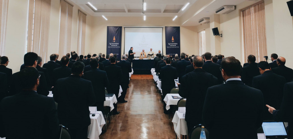 Son 104 los miembros del Sodalicio que se han hecho presentes en la V Asamblea General