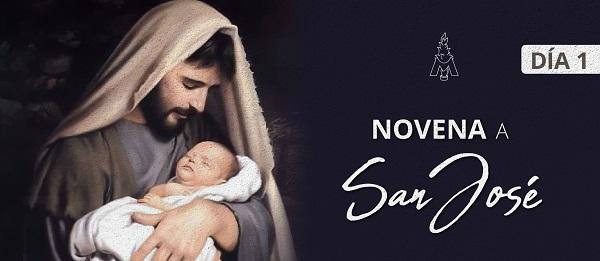 Novena a San José - Sodalicio - Día 1