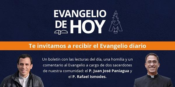 Te invitamos a meditar el Evangelio diario con nosotros