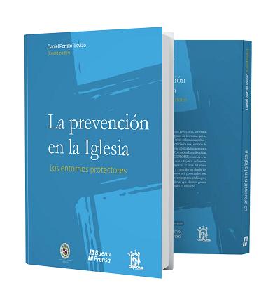 Portada del libro La prevención en la Iglesia del director del CEPROME