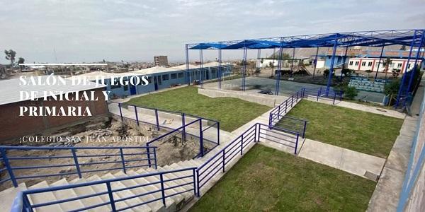 Colegio solidario en Arequipa cuenta con nueva infraestructura - Colegio San Juan Apóstol