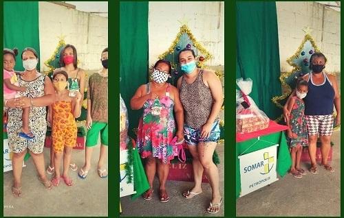 SOMAR realizó campañas navideñas en Petrópolis, Brasil