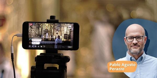 Banner para blog de Pablo Perazzo sobre la evangelización digital