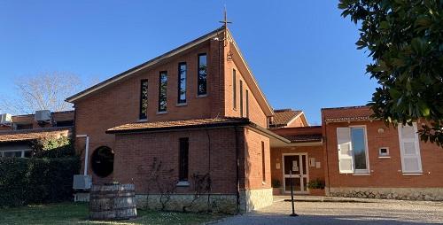 Casa de retiro donde los sodálites tuvieron sus Ejercicios Espirituales ignacianos