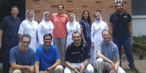 Sodálites que renovaron la plena disponibilidad de su corazón en Paraguay